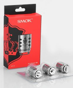 authentic smoktech smok v12 prince x6 sextuple coil for tfv12 prince tank 015 ohm 50120w 3 pcs