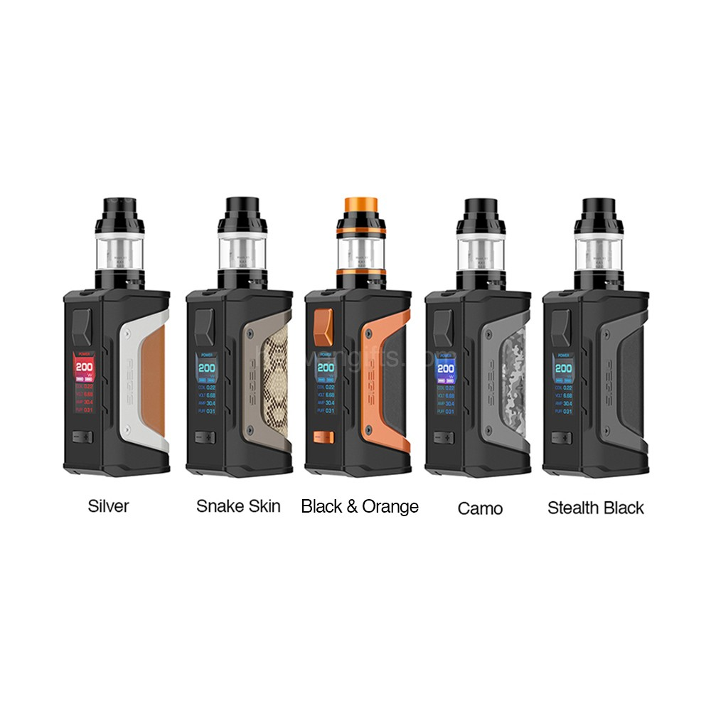 GeekVape Aegis Legend 200W TC Kit with Aero Mesh Version 00455782e200