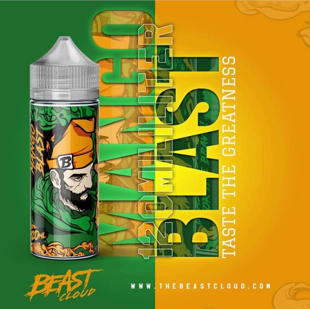 Beast Cloud E Liquid 120ml