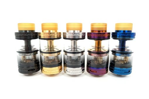 uwell fancier rtarda 24mm rebuildable swappable cap tank atomizer