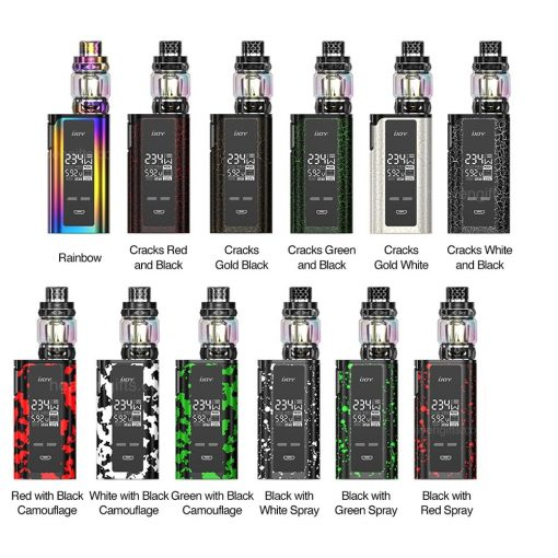 IJOY Captain PD W New Kit with Diamond Tank mAh ffe