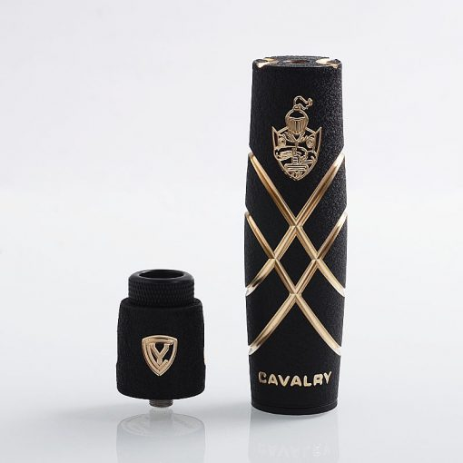 authentic serisvape cavalry v mechanical mod rda kit black brass stainless steel x
