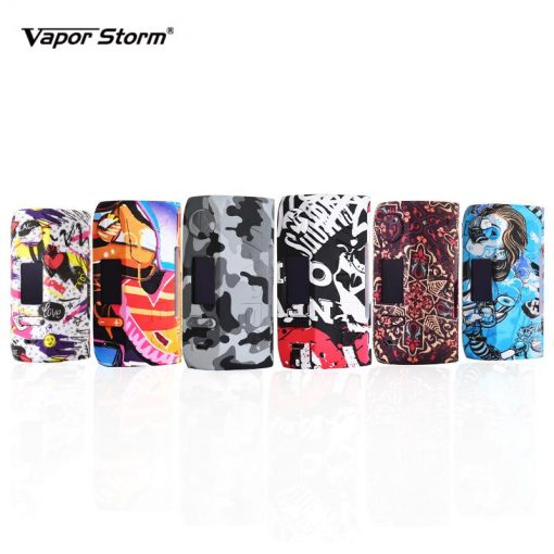 Vapor Storm Storm Bypass W VW TC Box Mod Vapes Fashion Mod Support Dual Battery x