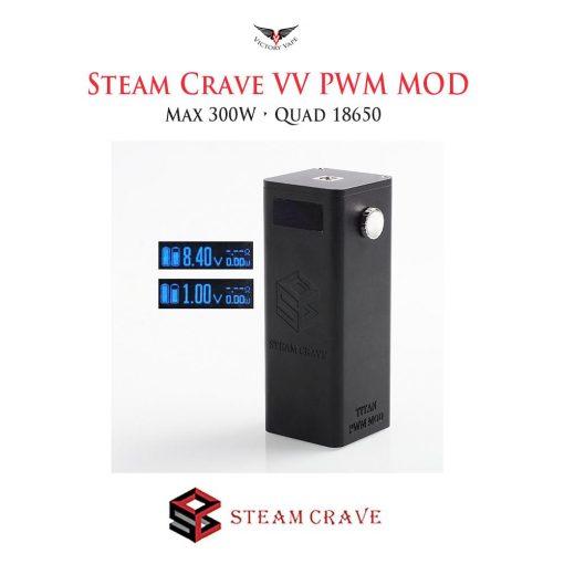 SteamCraveTitanPWM x