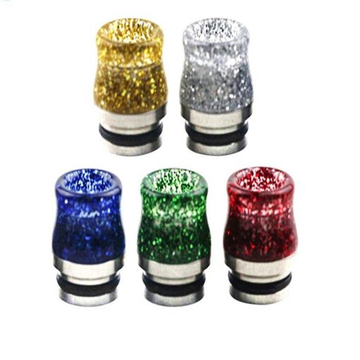 stainless steel sequins drip tip