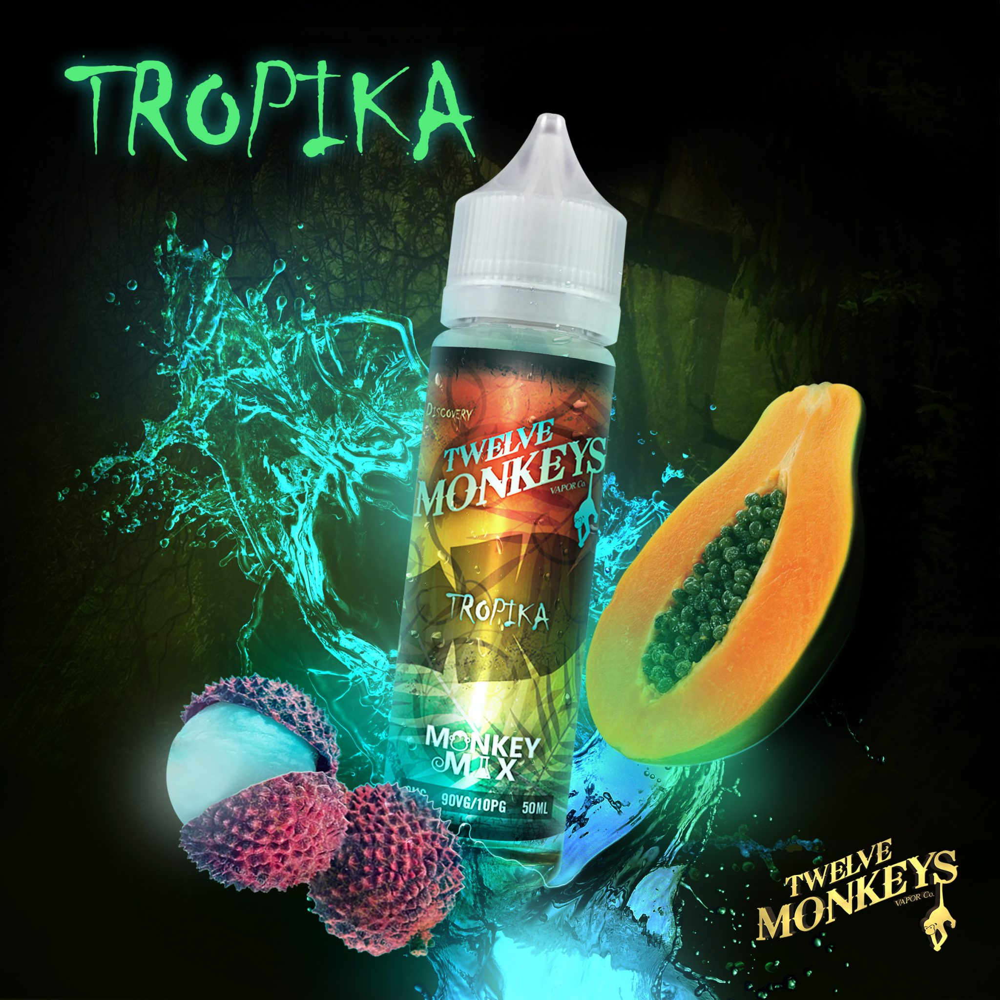 M TROPIKA MonkeyMix splash