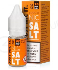 nic salt vg nicotine booster shot by just nic it