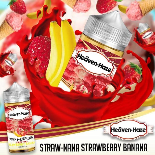 Heaven Haze E Liquid 120ml Shortfill