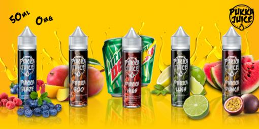Pukka Juice Banner Original Flavours x