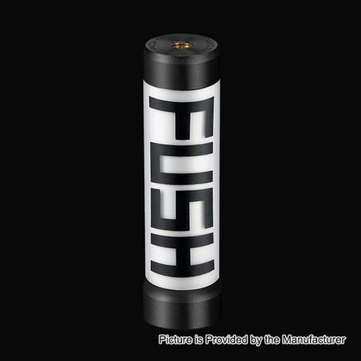 authentic acrohm fush led semi mechanical tube mod black x mm diameter