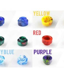 vandy vape driptip resin colors