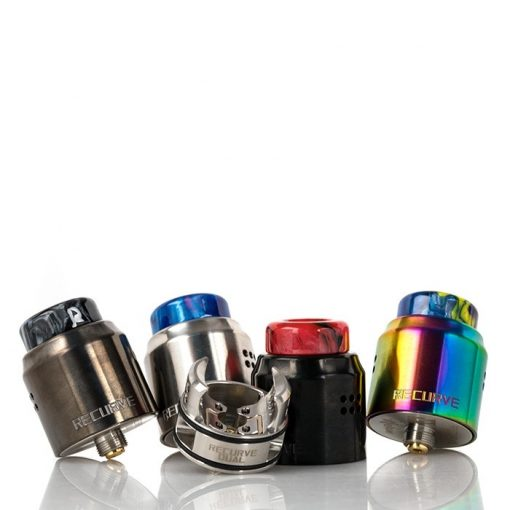wotofo x mike vapes recurve dual mm rda all colors