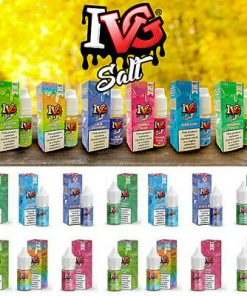 x IVG SALT All Flavours MG ml Nic