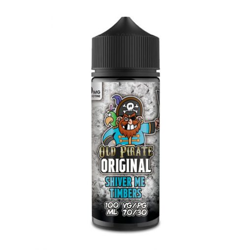 shiver me timbers ml eliquid shortfills by old pirate original x