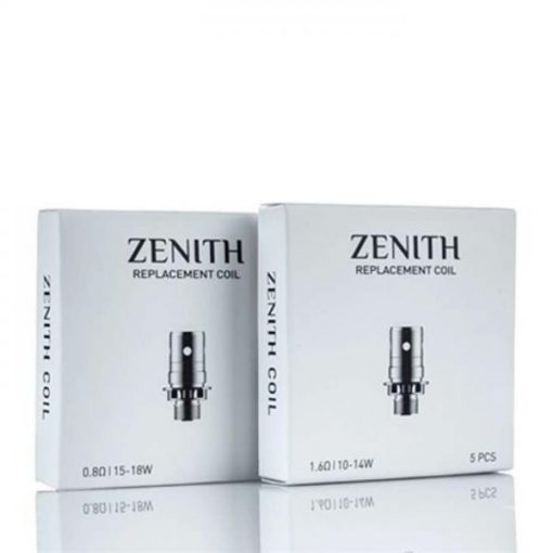 innokin zenith zlide coils coil resistance ohm number of coils x coils pack p