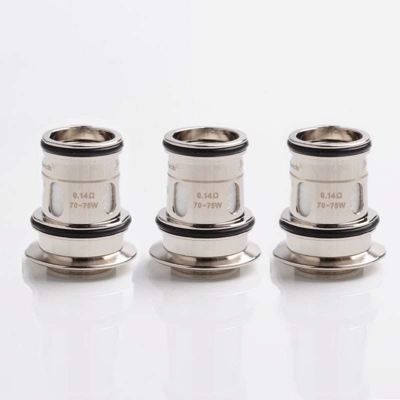 authentic horizontech replacement sector mesh coil head for falcon ii tank silver ohm pcs