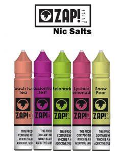 zap nicsalts ml nicotine salt eliquid