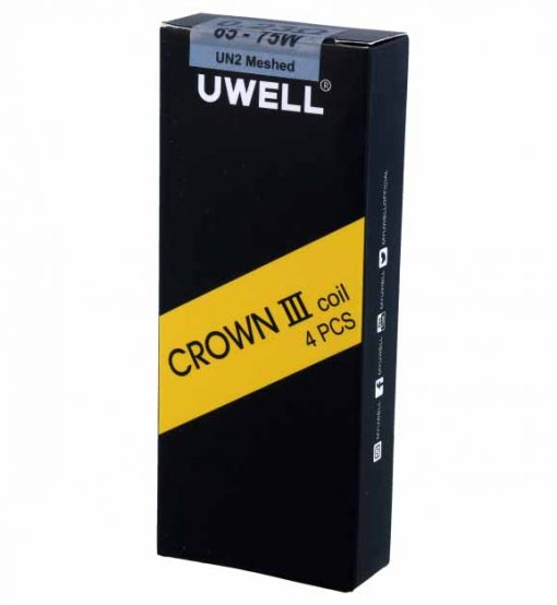 Uwell Crown UN Meshed Heads Ohm Verpackung