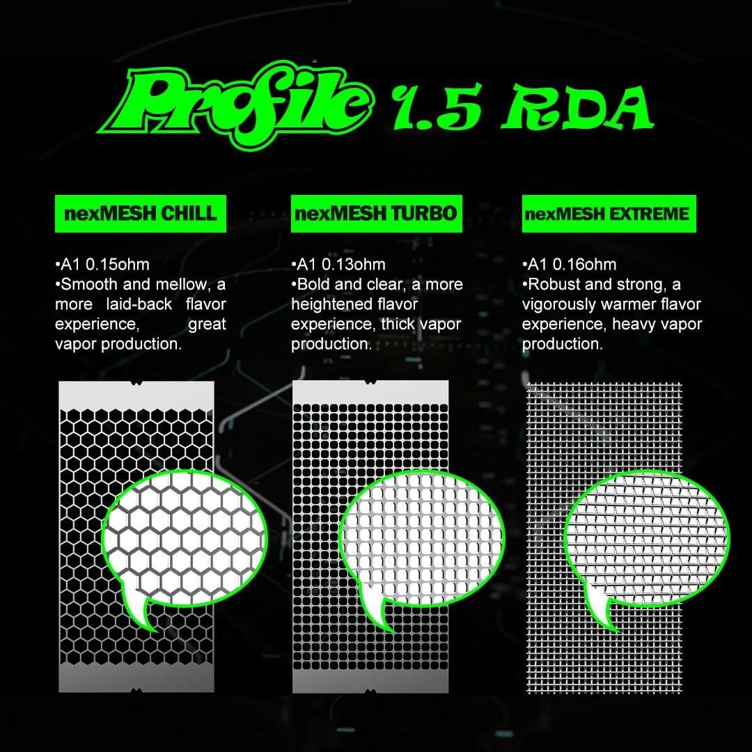 wotofo profile rda mesh