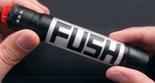 ecigwarehouse co uk Acrohm Fush Semi Mechanical LED Tube Mod Black Edition zoom