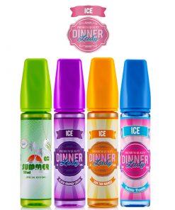 dinner lady ice ml eliquid shortfills