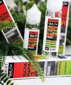 Pachamama Fuji Apple Strawberry Nectarine By Charlies Chalk Dust Vape Juice Review