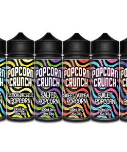 Popcorn Crunch ml E liquid Flavors E juice