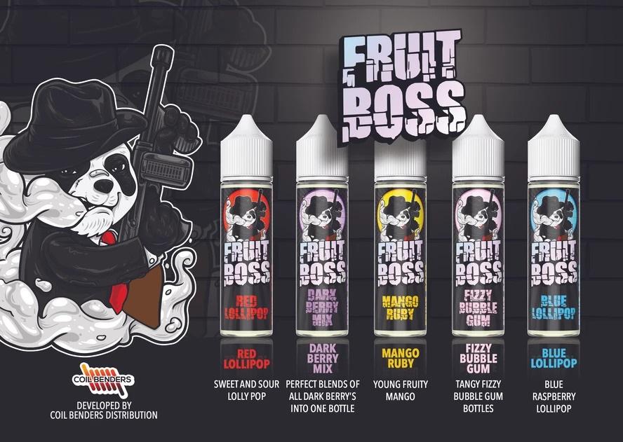 Fruit Boss eLiquid Banner