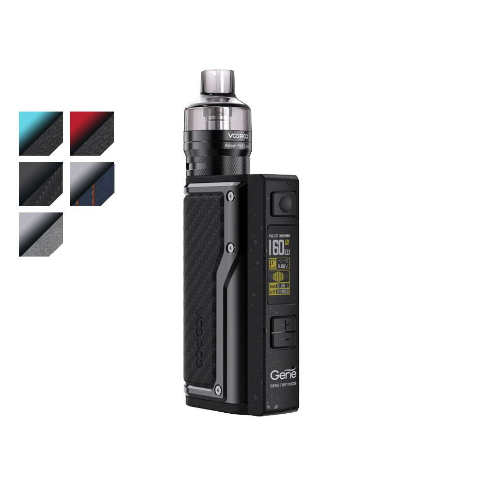 voopoo argus gt vape kit all colour swatches