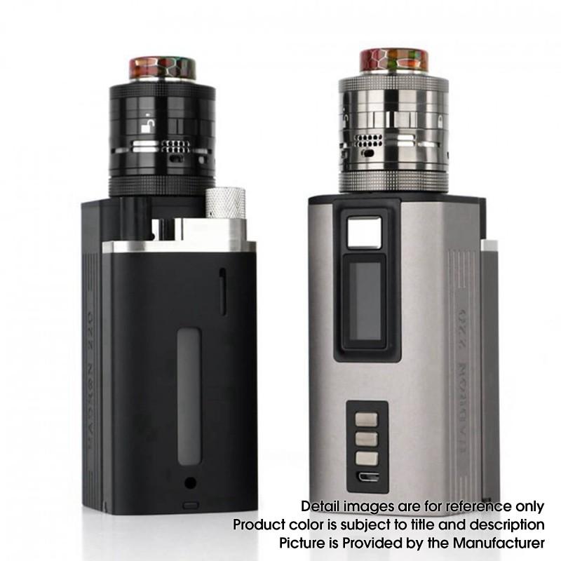 authentic steam crave hadron vw box mod ragnar rdta atomizer premium combo limited edition vape kit black w